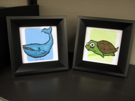 Framed Animals